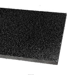 """Armstrong 24"""" x 24"""" Black Fine-Fissured Square Lay-In Drop Ceiling Tile"""
