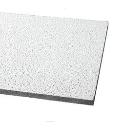"Armstrong Fire Guard 24"" x 48"" Fine-Fissured Square Lay-In Drop Ceiling Tile"