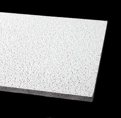 "Armstrong Fire Guard 24"" x 24"" Fine-Fissured Square Lay-In Drop Ceiling Tile"