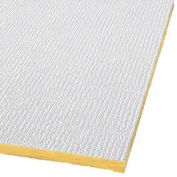 "Armstrong Shasta 24"" x 48"" Unperforated Fiberglass Square Lay-In Drop Ceiling Tile"
