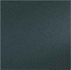 "Armstrong 24"" x 24"" Black Fine-Fissured Square Lay-In Drop Ceiling Tile"