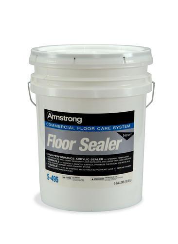 Armstrong s 495 commercial vinyl floor sealer 5 gallons for Best vinyl floor sealer