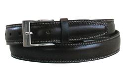 "34"" Oil-Tan Pad Brown Belt"