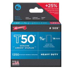 "Arrow® T-50 9/16"" Heavy-Duty Staples (1,250-Pack)"