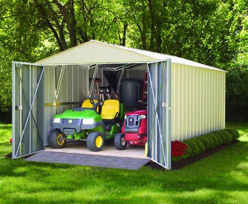 Arrow Commander Series 10' x 10' Steel Storage Building at Menards®