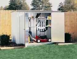 Arrow Garden 8' x 3' Steel Storage Building
