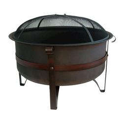 "Backyard Creations™ Large 34"" Steel Cauldron Fire Pit"