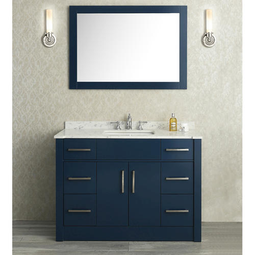 Innovative  Andover White Bathroom Vanity With White UM Sink At Menards