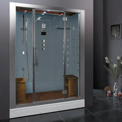 Ariel Platinum DZ972F8 White Steam Shower 59x32x87.4