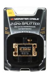 Monster 2 Gigahertz Low-Loss RF Splitters for TV and Satellite MKII