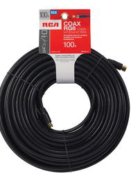 100' RG6 Coaxial Cable w/Ground