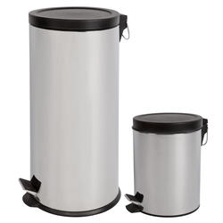 Designer's Choice 30-Liter Trash Can with 5-Liter Bonus Can