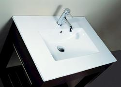 """Avanity 25"""" Vitreous China Top with Integrated Bowl (Single Hole)"""