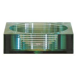 Avanity Square Tempered Segmented Glass Vessel