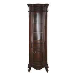 "Avanity 24"" Antique Cherry Provence Linen Tower"