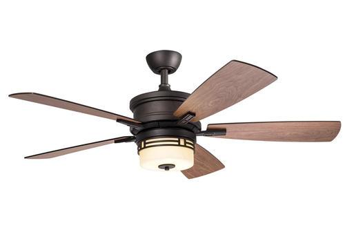 of the century mission 52 bronze patina ceiling fan at menards. Black Bedroom Furniture Sets. Home Design Ideas