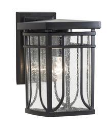 """Patriot Lighting® Francis 10.5"""" Black 1-Light Outdoor Wall Light"""