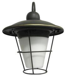 """Patriot Lighting® Crestmoor 12.5"""" Rubbed Bronze 1-Light Outdoor Wall Mount"""