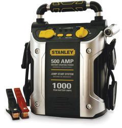 Stanley 500 Amp Jump Starter with Compressor