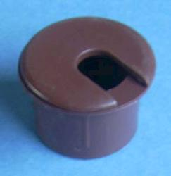 "1"" Brown Desk Grommet"