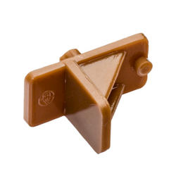 Tan Shelf Support with 5mm Peg