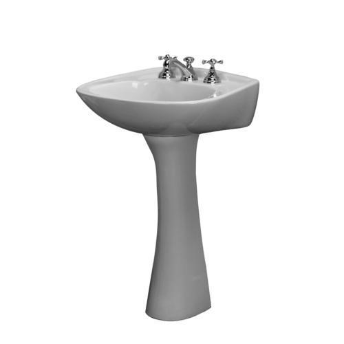 Barclay Hartford Pedestal Sink, 8