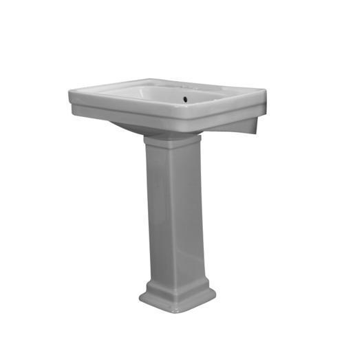 Barclay Sussex 550 Pedestal Sink, 8