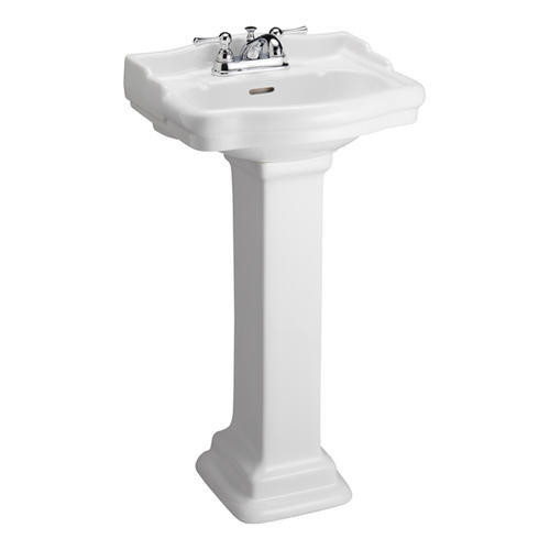 Barclay Stanford 460 Pedestal Sink, 4