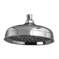 "Barclay 10"" Euro Showerhead with 126 Brass & Rubber Nozzles"