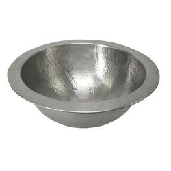 Barclay Large Round Self Rimming Copper Basin