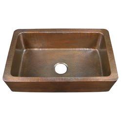 """Barclay 32"""" Single Bowl Copper Farmer Sink"""