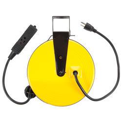 30' 16/3 Tri-Tap Metal Cord Reel