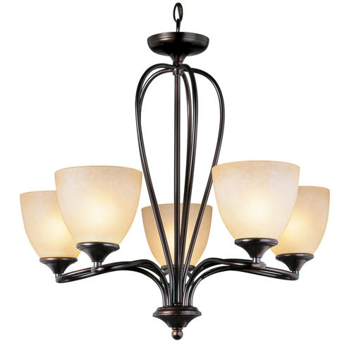 Patriot Lighting Emily 5 Light Aged Bronze Chandelier At Menards