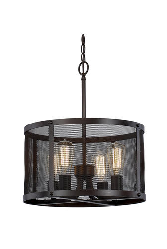 Patriot LightingR Troy 4 Light Mesh Pendant At MenardsR