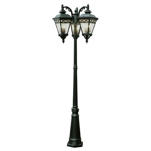 bel air lighting villa estate 3 lantern 81 outdoor lamp. Black Bedroom Furniture Sets. Home Design Ideas