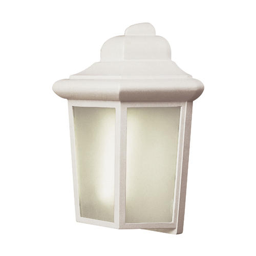 Bel Air Lighting Patio Pocket 1 Light 12 White Outdoor Porch Light At