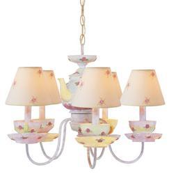 """Patriot Lighting® Tea Cup 5 Light 16"""" Chandelier"""