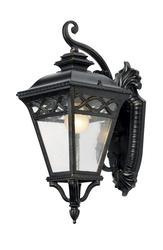 "Patriot Lighting® Elegant Home Graham 1 Light 18"" Outdoor Wall Lantern"