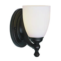 "Bel Air Lighting Marquess 1 Light 8"" Oil Rubbed Bronze Wall Sconce"