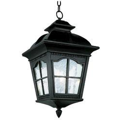 "Bel Air Lighting Redford 3 Light 21.25 "" Black Outdoor Pendant"