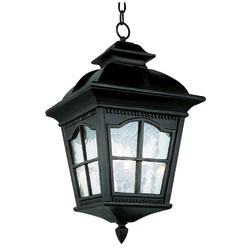 "Bel Air Lighting Redford 4 Light 23.75 "" Black Outdoor Pendant"