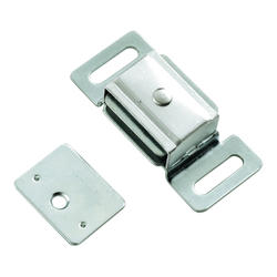 "Hickory Hardware Cadmium Double Magnetic Catch - 2-3/8"" Wide"