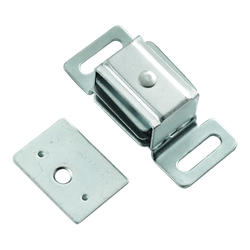 """Hickory Hardware Cadmium Double Magnetic Catch - 2-1/4"""" Wide"""