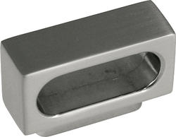 "Hickory Hardware Greenwich Collection 7/8"" C/C Satin Nickel Finger Pull"
