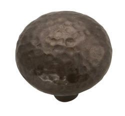 Hickory Hardware Mountain Lodge Collection Hammered Texture Knob