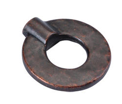 Hickory Hardware Hammered Iron Collection Ring Knob