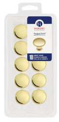 "Hickory Hardware Conquest Collection 1-1/8"" Diameter Knobs - Project Pack - 10 per pack"