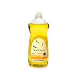 25 oz.  Resolution Dish Liquid (Lemon)