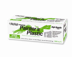 Film-Gard 9' x 400' Clear Professional Painter's Plastic