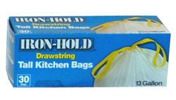 Iron Hold Drawstring Bags